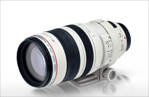 Canon EF 100 - 400 mm 3.5 - 5.6 L IS
